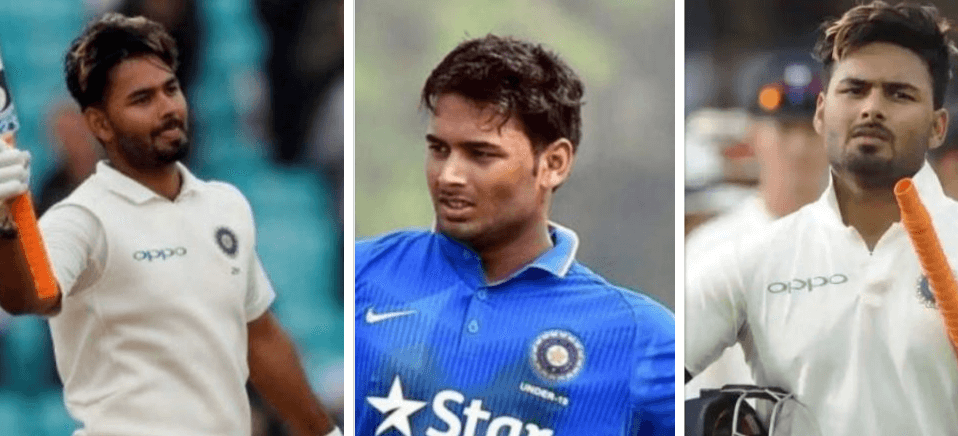 Rishabh Pant - a famous sports player