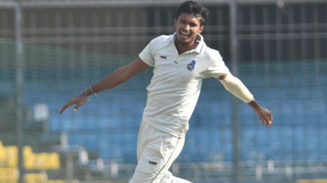 Navdeep Saini International Cricket career, Debut