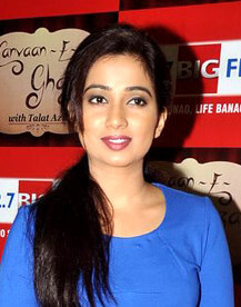 Shreya Ghoshal Favorite Things