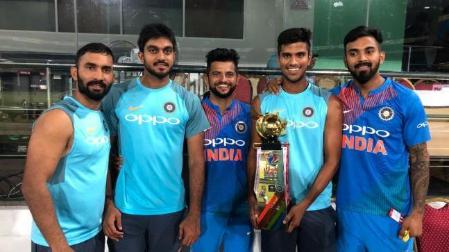 Washington Sundar International Cricket Career, Debut