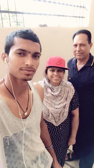 Navdeep Saini Family