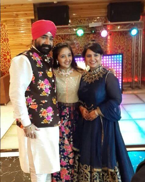 Ashnoor Kaur Family