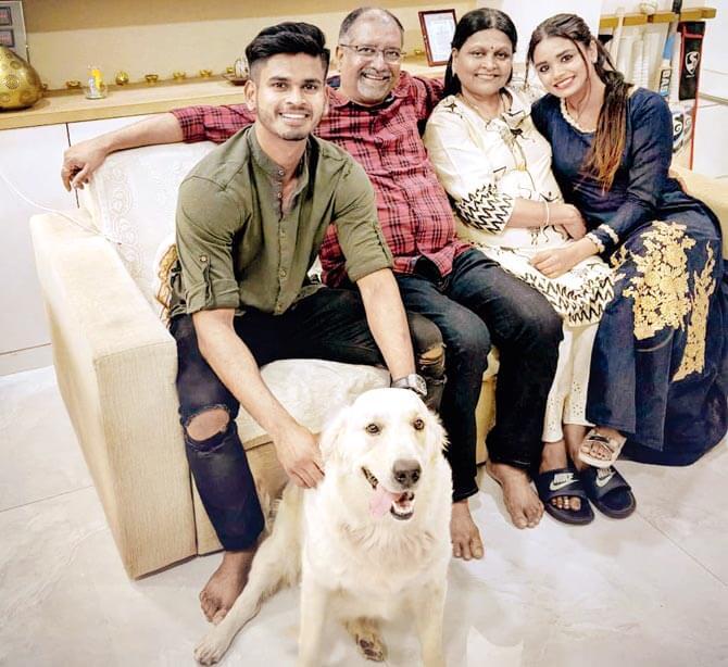 Shreyas Iyer Family