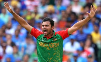 Mashrafe Mortaza Wiki, Height, Weight, Age, Records, Family, Wife, Children, Biography, Images & More