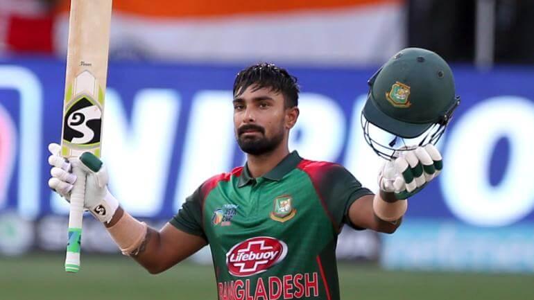 Liton Das International Cricket Career, Debut