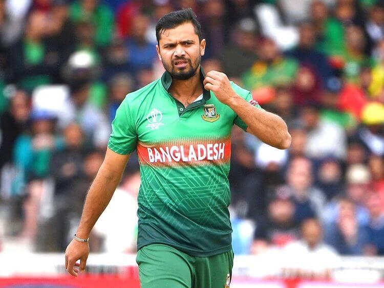 mashrafe mortaza International Cricket Career, Debut