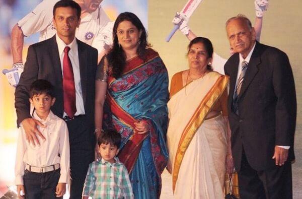Rahul Dravid Family & Caste