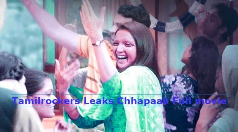 Deepika Padukone's Chhapaak Full Movie Download to Online: Leaked By TamilRockers Movierulz TamilGun TamilYogi Filmyzilla