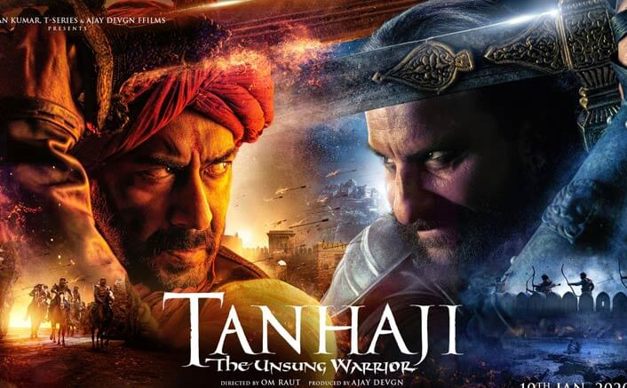 Download Tanhaji Full Movie Leaked by TamilRockers Movierulz TamilGun TamilYogi Filmyzilla