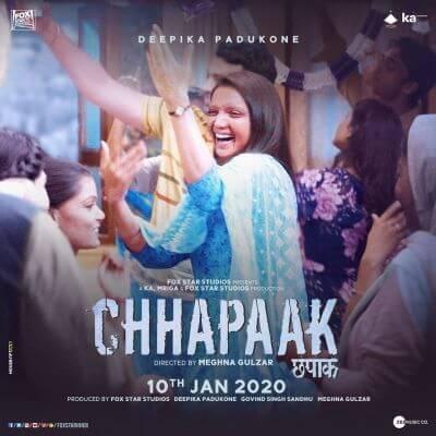 List of other websites of Deepika Padukone's Chhapaak Full Movie Download
