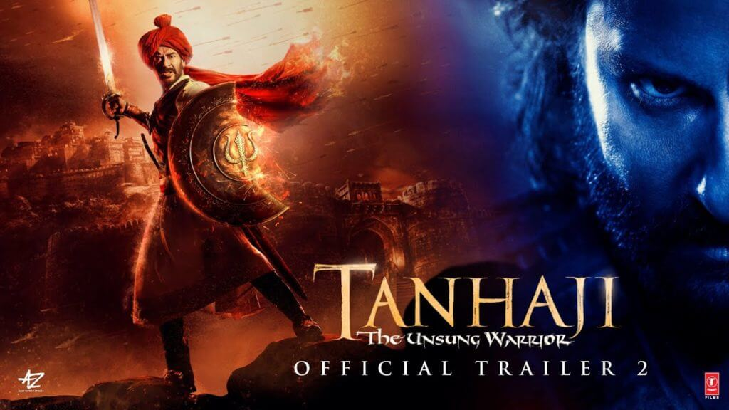 Details of Tanhaji Full Movie Online to Download on Tamilrockers, Bolly4u, Filmyzilla, World4uFree, Movierulz, Filmywap