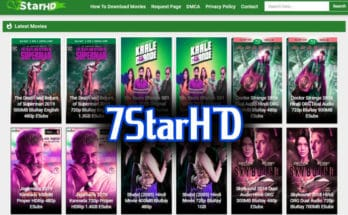 7StarHD 2020: Watch Bollywood Movies Online Download Latest Hindi Dubbed Movies from 7StarHD