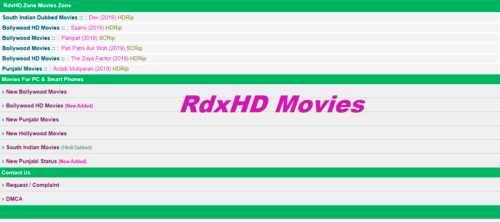 RDXHD 2020 Live Link: Bollywood, Hollywood Movies Free Download