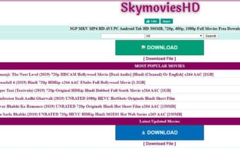 Is downloading movies from Skymovies 2020 valid?
