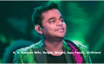 A. R. Rahman Wiki, Height, Weight, Age, Family, Girlfriend, Wife, Caste, Images & More
