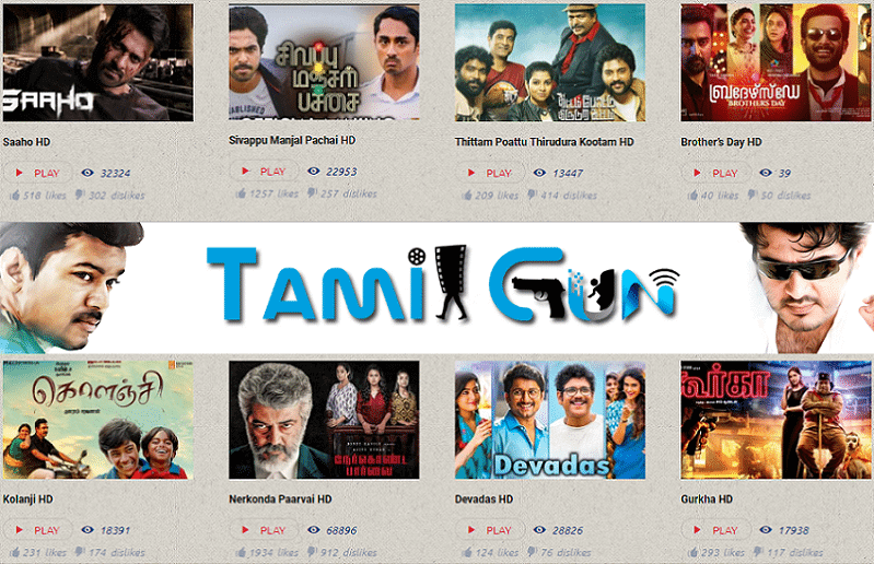 Is downloading movies from Tamilgun 2020 valid?