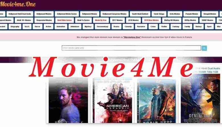 Movie4me 2020 : Download Latest Bollywood, Hollywood, South Movies online