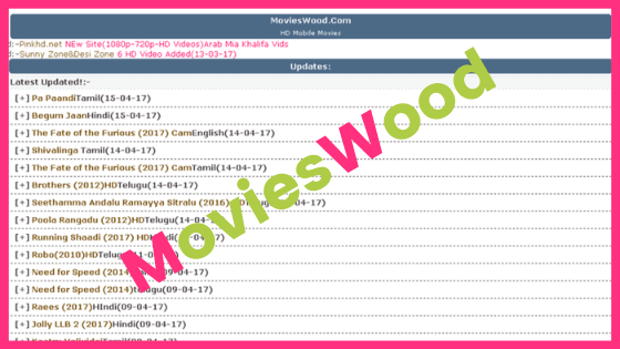 How to Download Bollywood, Hollywood, Hindi Dubbed Movies from Movieswood?