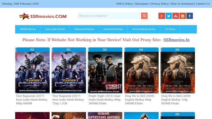 Ssrmovies 2020: Watch Bollywood Movies Online Download Latest Hindi Dubbed Movies from Ssrmovies