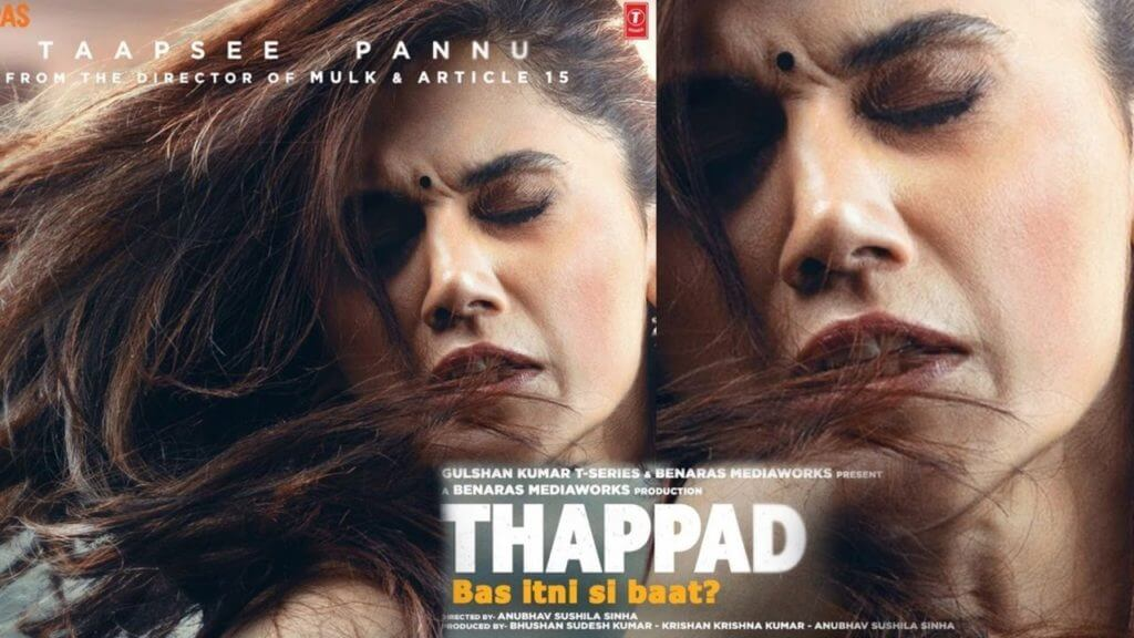 Taapsee Pannu's 'thappad' leaked online on the first day by Tamilrockers, Filmyzilla, Filmywap and Movierulz