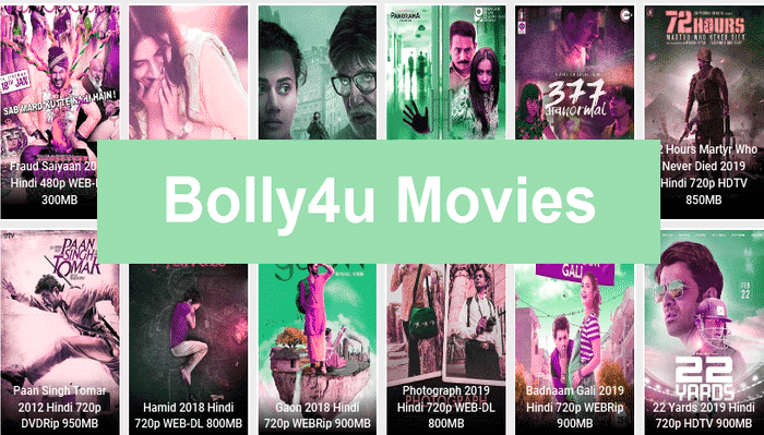 Is downloading movies from Bolly4u 2020 valid?