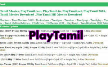 Playtamil 2020: Watch Bollywood Movies Online Download Latest Hindi Dubbed Movies from Playtamil