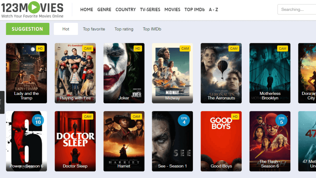 123 Movies - Best alternative site of putlocker