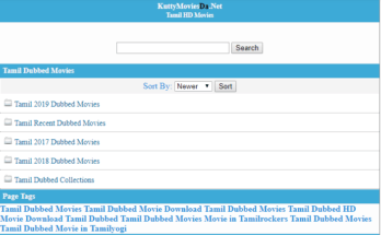 Kuttymovies 2020: Watch Bollywood Movies Online Download Latest Hindi Dubbed Movies from Kuttymovies