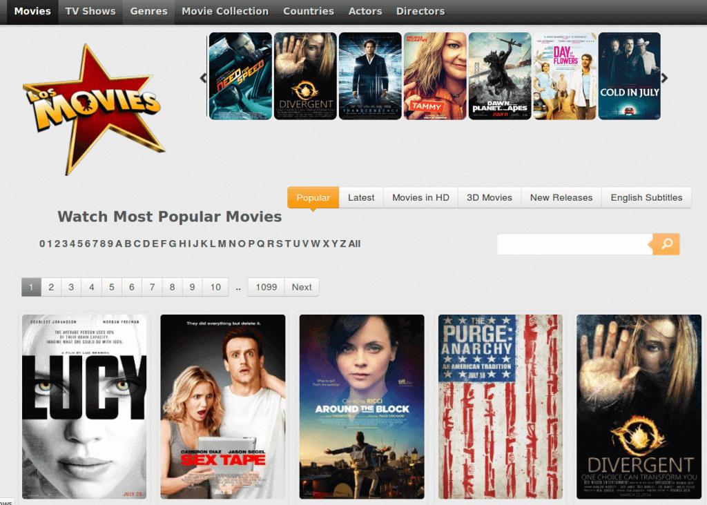 Los Movies - Best alternative site of putlocker
