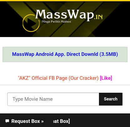 MassWap 2020: Watch Bollywood Movies Online Download Latest Hindi Dubbed Movies from MassWap