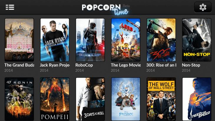 Popcorn Time - Best alternative site of putlocker
