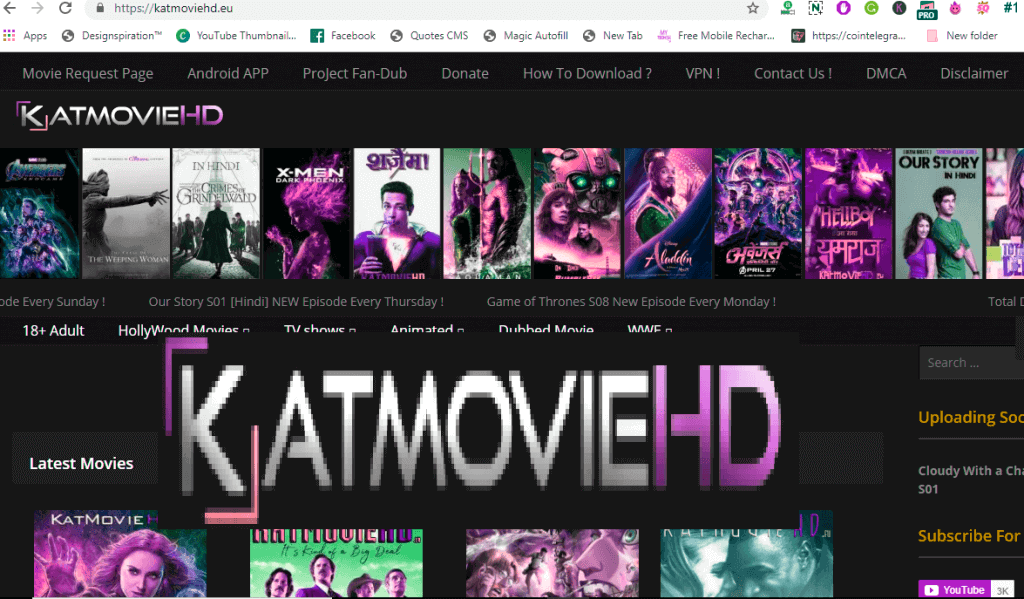 CatmoviHD 2020 Live Link: Download Bollywood, Hollywood HD Movies