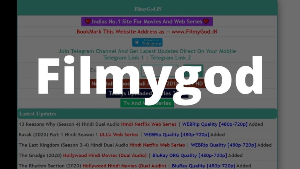 Filmygod 2020: HD Hindi Movies Download filmygod illegal movies